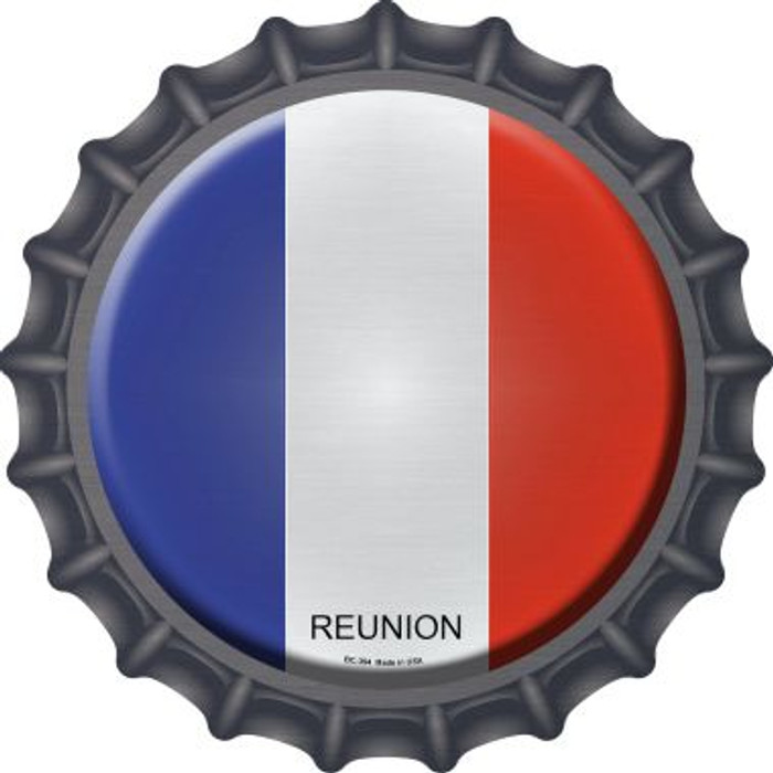 Reunion Country Novelty Metal Bottle Cap BC-394