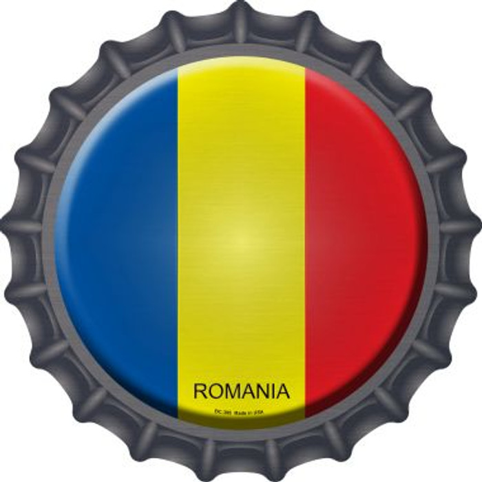 Romania Country Novelty Metal Bottle Cap BC-395