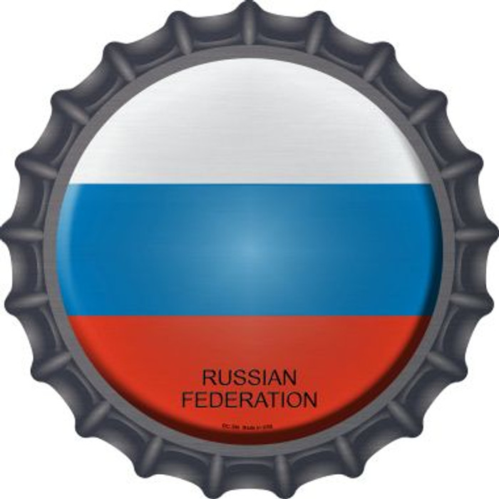 Russian Federation Country Novelty Metal Bottle Cap BC-396