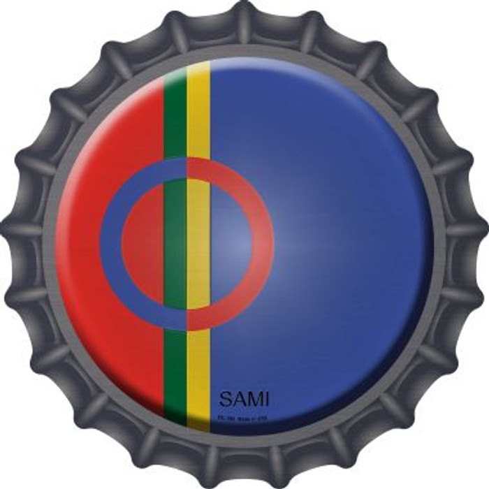 Sami Country Novelty Metal Bottle Cap BC-399