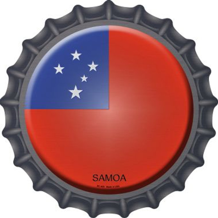 Samoa Country Novelty Metal Bottle Cap BC-400