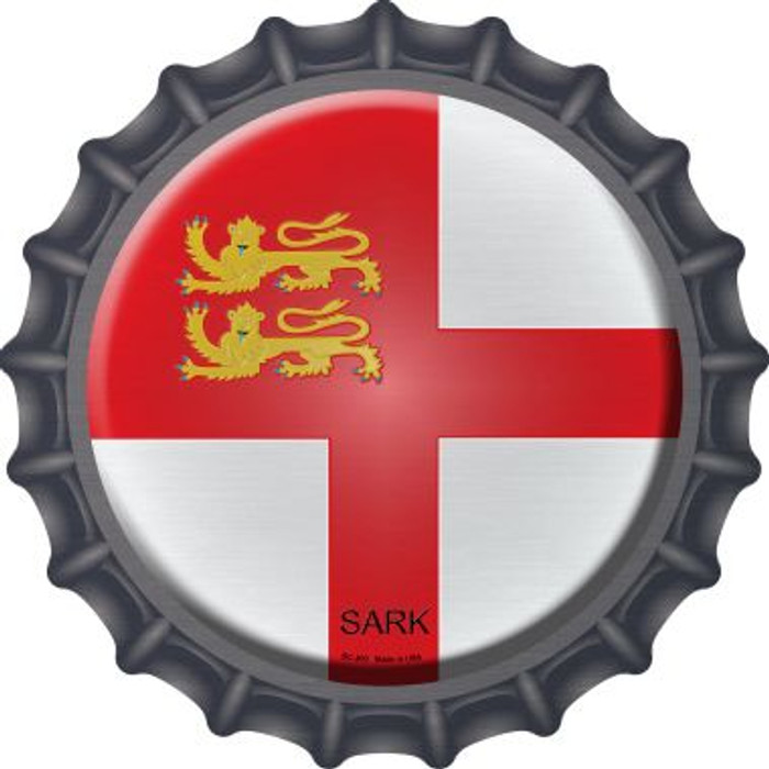 Sark Country Novelty Metal Bottle Cap BC-403