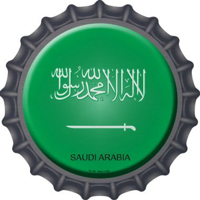 Saudi Arabia Country Novelty Metal Bottle Cap BC-404