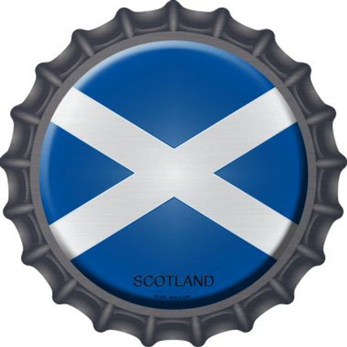 Scotland Country Novelty Metal Bottle Cap BC-405