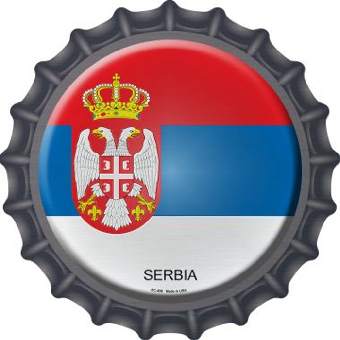 Serbia Country Novelty Metal Bottle Cap BC-408
