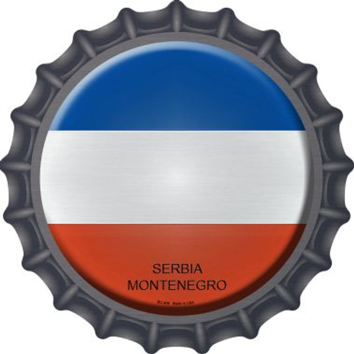 Serbia Montenegro Country Novelty Metal Bottle Cap BC-409