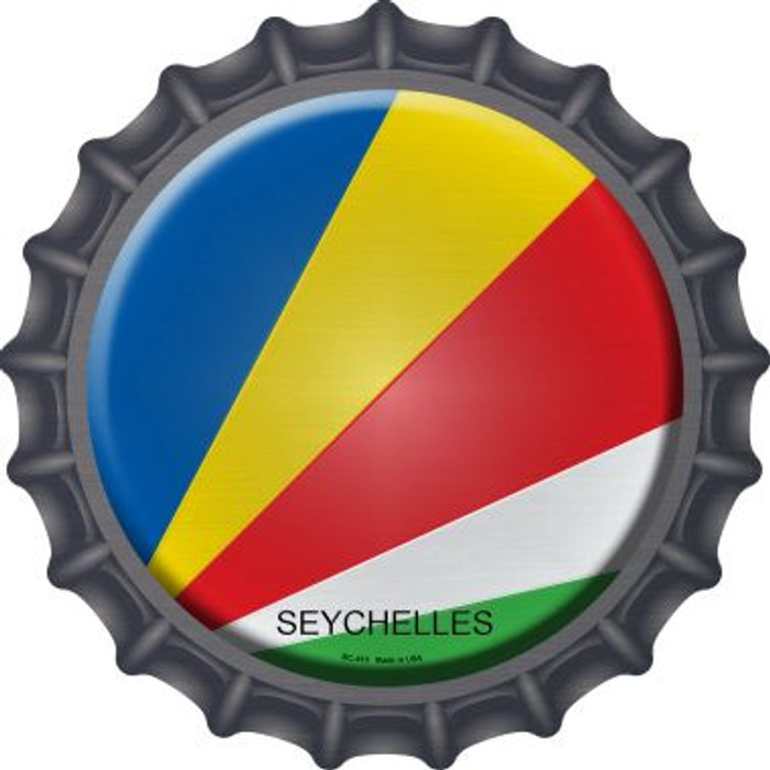Seychelles Country Novelty Metal Bottle Cap BC-410