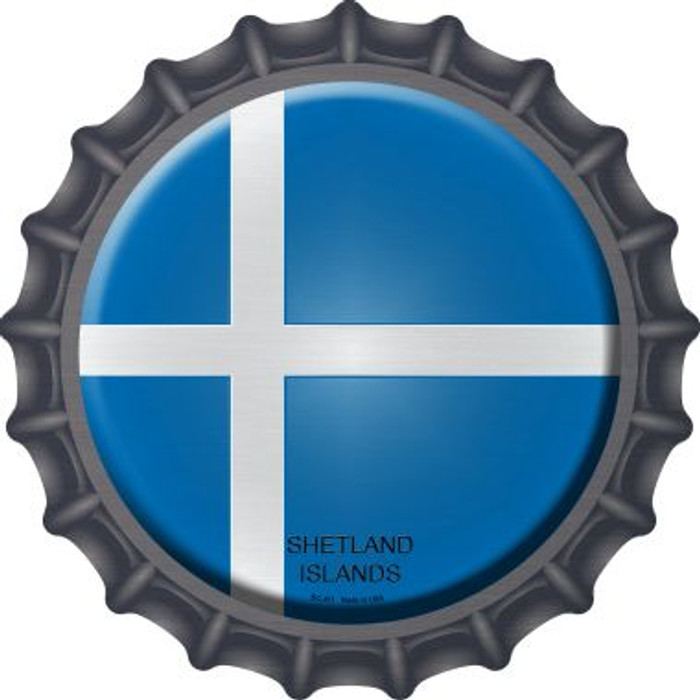 Shetland Islands Country Novelty Metal Bottle Cap BC-411