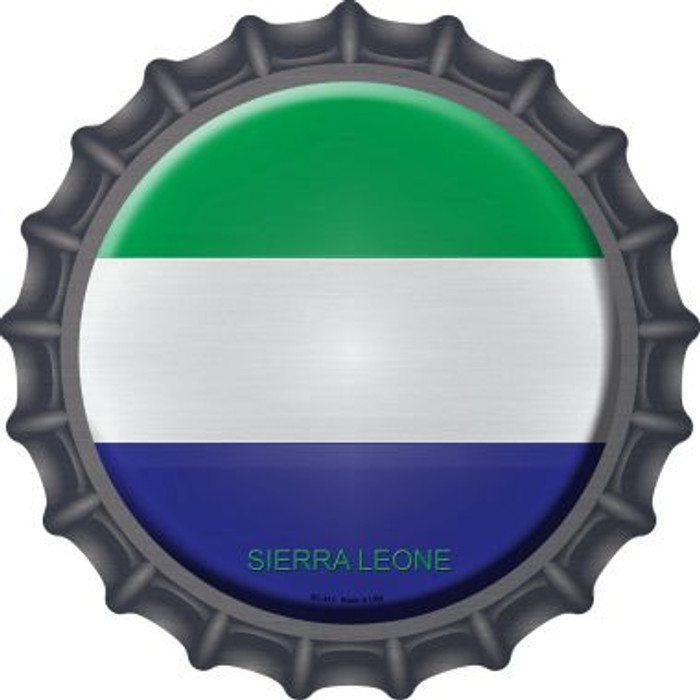 Sierra Leone Country Novelty Metal Bottle Cap BC-412