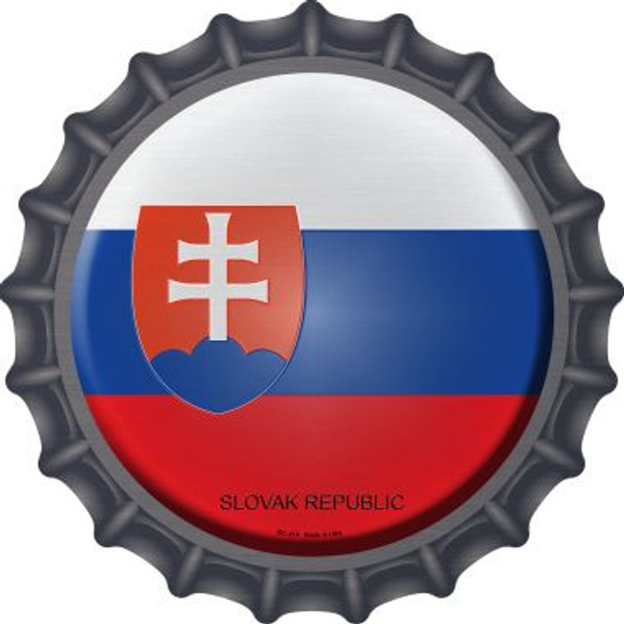 Slovak Republic Country Novelty Metal Bottle Cap BC-414