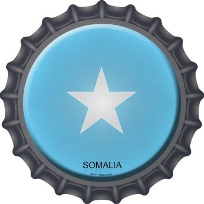 Somalia Country Novelty Metal Bottle Cap BC-417