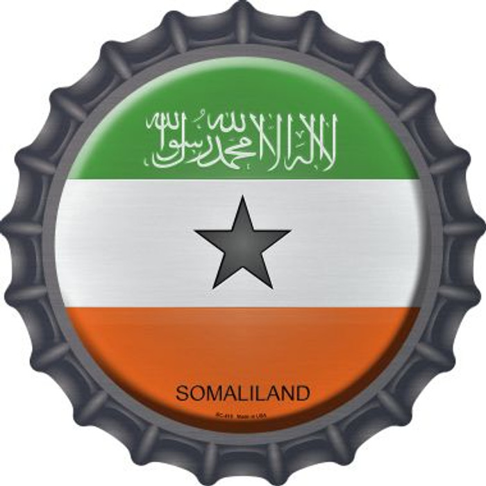 Somaliland Country Novelty Metal Bottle Cap BC-418