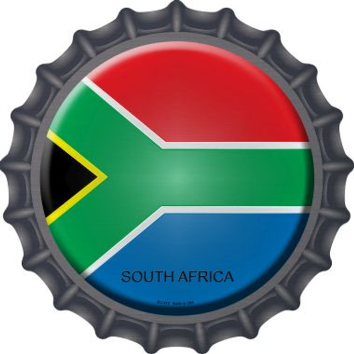 South Africa Country Novelty Metal Bottle Cap BC-419