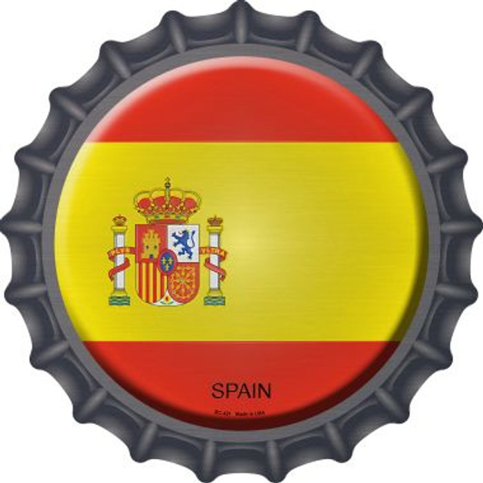 Spain Country Novelty Metal Bottle Cap BC-421