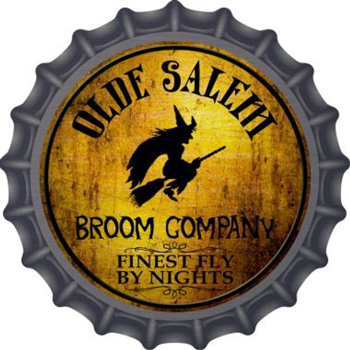 Salem Broom Company Novelty Metal Bottle Cap BC-508
