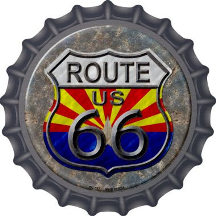 California Route 66 Novelty Metal Bottle Cap BC-518