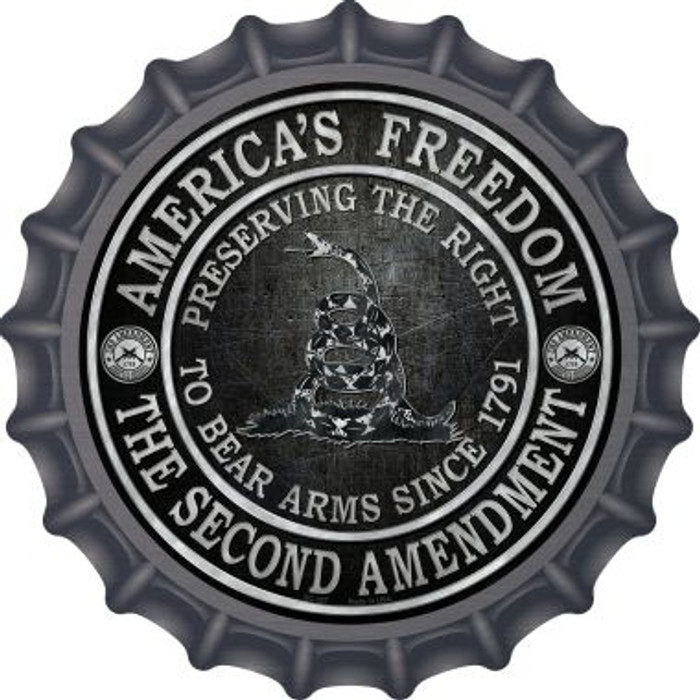 Americas Freedom Novelty Metal Bottle Cap BC-527