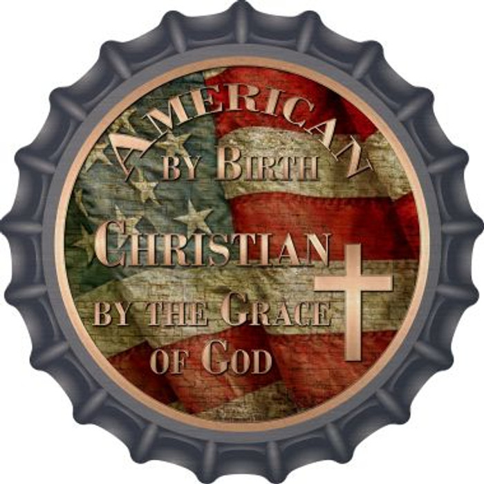 American Christian Novelty Metal Bottle Cap BC-597