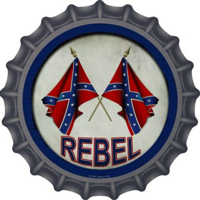 Rebel Novelty Metal Bottle Cap BC-655