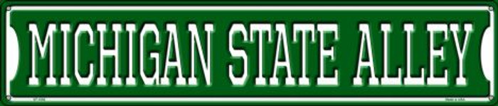 Michigan State Alley Metal Novelty Street Sign ST-1082
