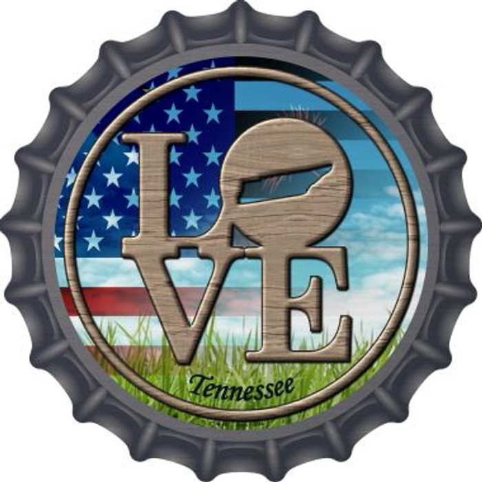 Love Tennessee Novelty Metal Bottle Cap BC-707
