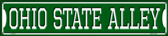 Ohio State Alley Metal Novelty Street Sign ST-1087