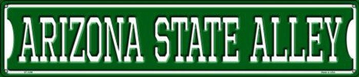 Arizona State Alley Metal Novelty Street Sign ST-1099