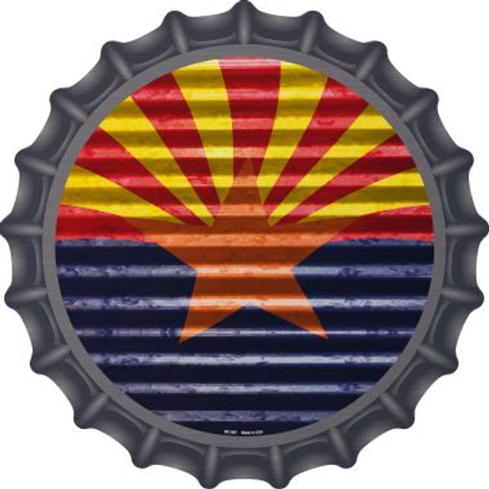 Arizona Flag Novelty Metal Bottle Cap BC-897