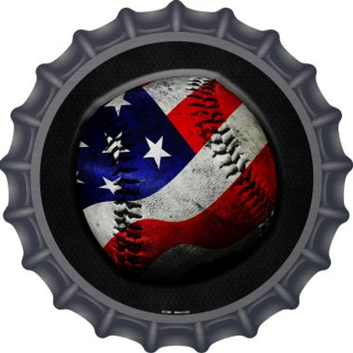 American Baseball Novelty Metal Bottle Cap BC-969