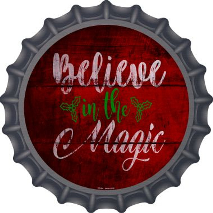 Believe In Magic Novelty Metal Bottle Cap BC-990