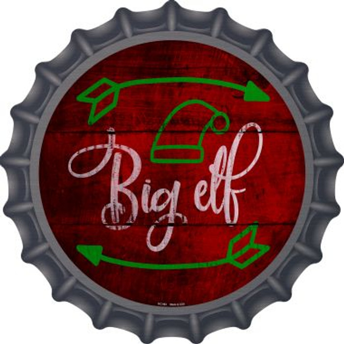 Big Elf Novelty Metal Bottle Cap BC-992