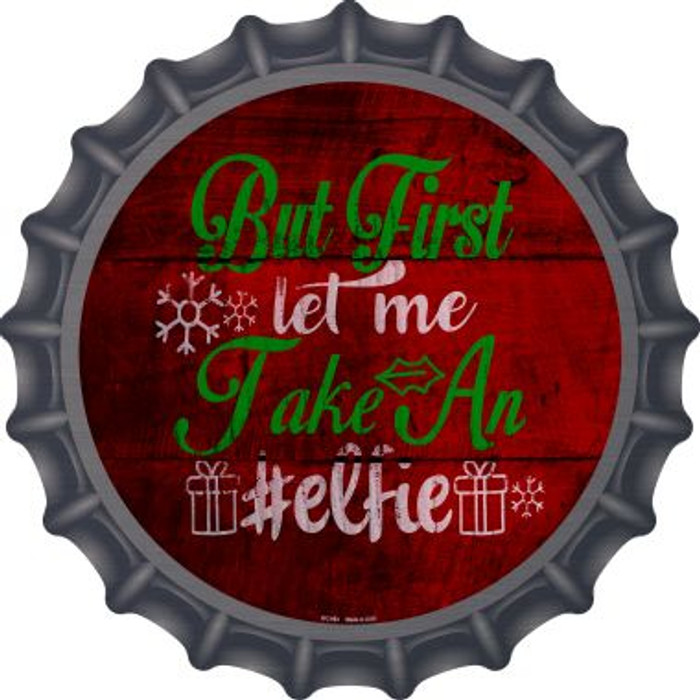 Take An Elfie Novelty Metal Bottle Cap BC-993