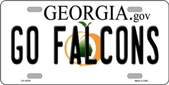 Go Falcons Novelty Metal License Plate Tag LP-13379