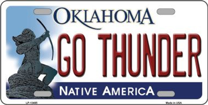 Go Thunder Novelty Metal License Plate Tag LP-13485