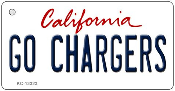 Go Chargers Novelty Metal Key Chain KC-13323