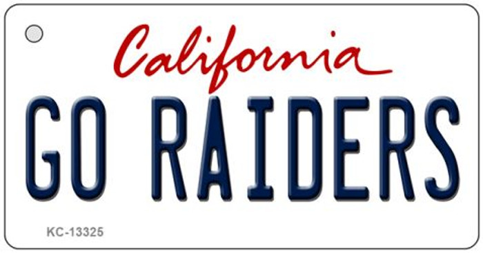 Go Raiders Novelty Metal Key Chain KC-13325