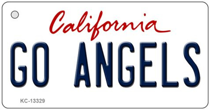 Go Angels Novelty Metal Key Chain KC-13329