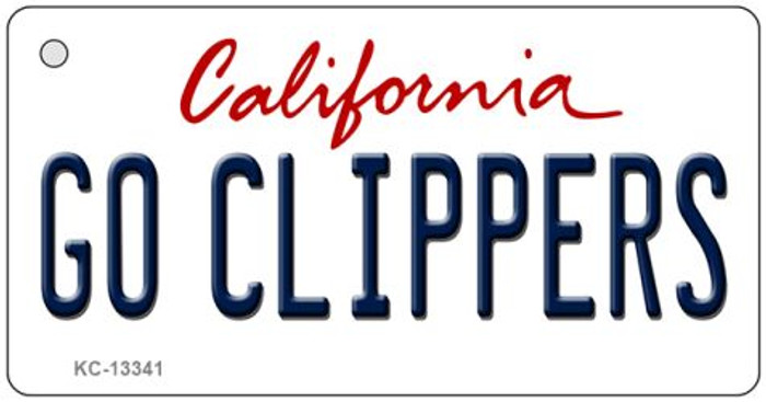 Go Clippers Novelty Metal Key Chain KC-13341