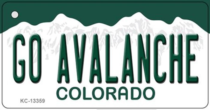 Go Avalanche Novelty Metal Key Chain KC-13359