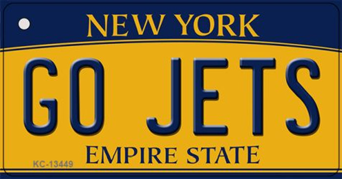 Go Jets Novelty Metal Key Chain KC-13449