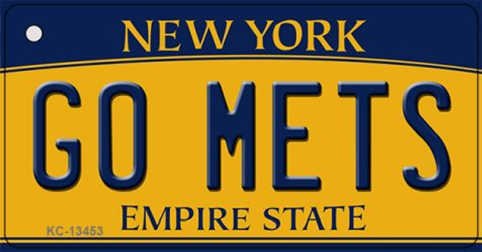 Go Mets Novelty Metal Key Chain KC-13453