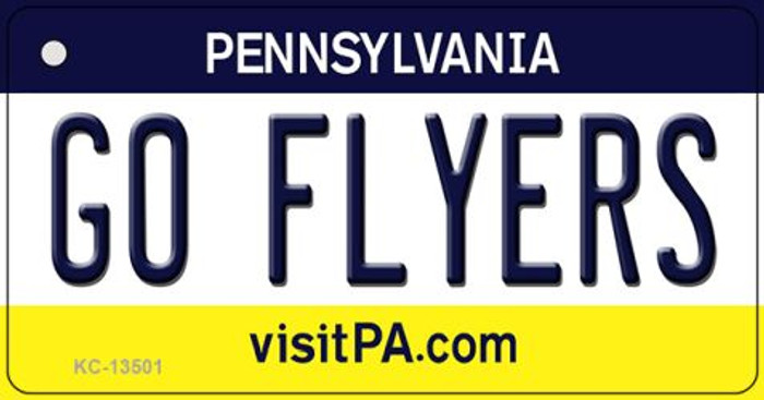 Go Flyers Novelty Metal Key Chain KC-13501