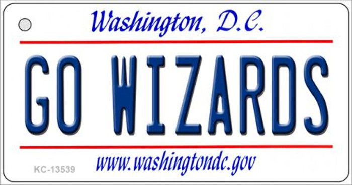 Go Wizards Novelty Metal Key Chain KC-13539