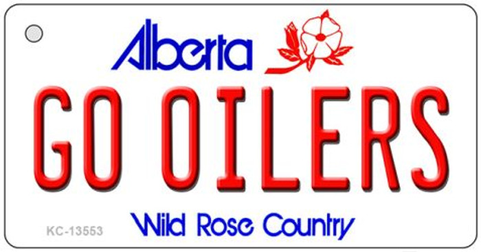Go Oilers Novelty Metal Key Chain KC-13553