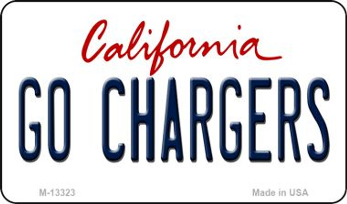 Go Chargers Novelty Metal Magnet M-13323