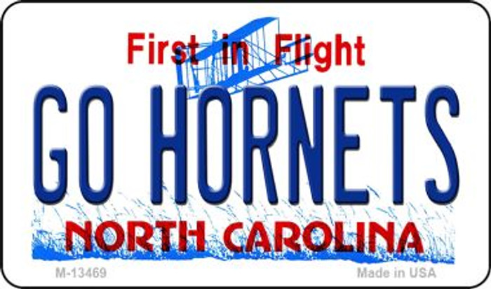 Hornets Fan Novelty Metal Magnet M-13469