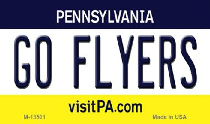 Go Flyers Novelty Metal Magnet M-13501