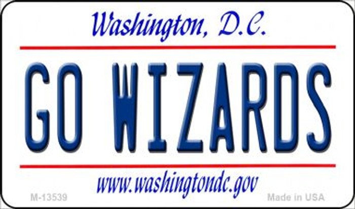 Go Wizards Novelty Metal Magnet M-13539