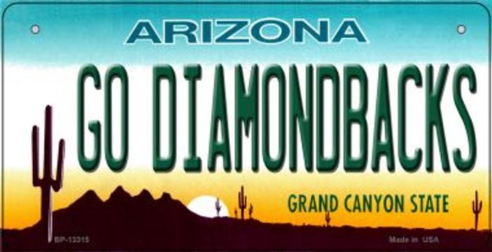 Go Diamondbacks Novelty Metal Bicycle Plate BP-13315