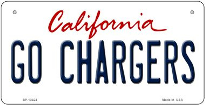 Go Chargers Novelty Metal Bicycle Plate BP-13323